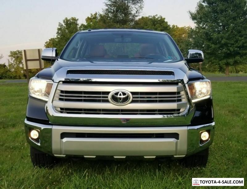 2014 Toyota Tundra 1794 Edition for Sale in United States