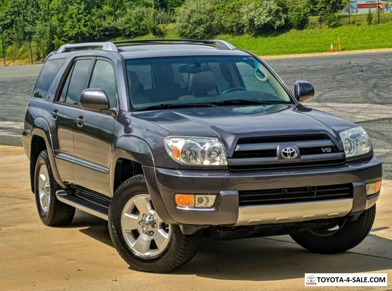 Toyota For Sale By Owner >> 2003 Toyota 4runner No Reserve 1 Owner 32k Miles Limited V8 Must See