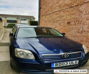 Toyota avensis d4d 2.0 5 door hatchback 2003 12 months MOT for Sale