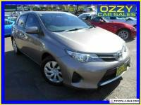 2015 Toyota Corolla ZRE182R Ascent Bronze Automatic 7sp A Hatchback