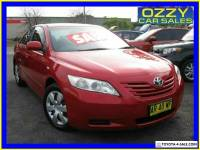 2006 Toyota Camry ACV40R Altise Red Automatic 5sp A Sedan