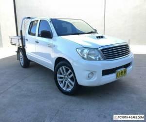 2008 Toyota Hilux KUN16R MY09 SR Utility Dual Cab 4dr Man 5sp, 4x2 1045kg 3.0D for Sale
