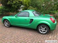 Toyota MR2 Roadster With Hardtop Rare colour