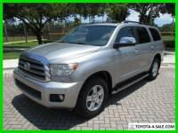 2008 Toyota Sequoia Limited Naviagtion Rear Cam Heated Seats