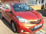 Toyota Yaris 2013 Full Toyota Service History 1.3 SR Petrol Excellent Condition for Sale