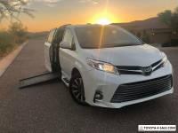 2018 Toyota Sienna Limited Premium  Wheelchair Handicap Mobility Van