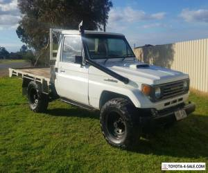 1990 TOYOTA LANDCRUISER HZJ75RP DIESEL 1HZ 4.2LTR TURBO CAB CHASSIS 4wd Ute  for Sale