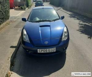 Toyota Celica vvti 2005 Blue 88000 mileage for Sale
