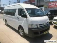 2007 Toyota HiAce TRH223R Commuter White Automatic A Bus