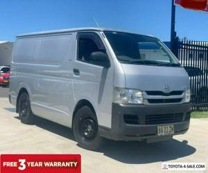 2009 Toyota HiAce TRH201R MY08 Van LWB 4dr Man 5sp, 1135kg 2.7i Silver Manual M for Sale
