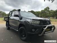 2017 Toyota Hilux GUN126R MY17 SR (4x4) Graphite Auto 6sp A Dual Cab Utility
