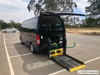 Toyota Hiace commuter wheel chair rear lifter,auto,petrol,2x wheelchairs