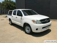 2007 Toyota Hilux GGN15R MY07 SR Utility Dual Cab 4dr Auto 5sp, 4x2 1115kg 4.0