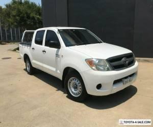 2007 Toyota Hilux GGN15R MY07 SR Utility Dual Cab 4dr Auto 5sp, 4x2 1115kg 4.0 for Sale