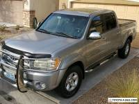 2005 Toyota Tundra Silver and Grey interior