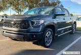 2020 Toyota Tundra PLATINUM for Sale