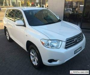 2009 Toyota Kluger GSU40R KX-R (FWD) 5 Seat White Automatic 5sp A Wagon for Sale