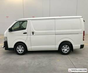 TOYOTA HIACE VAN 2011 TURBO DIESEL AUTO SUPER CLEAN 137000KMS 1 OWNER LOG BOOK for Sale