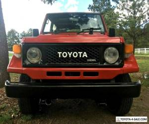 1989 Toyota Land Cruiser BJ70 for Sale