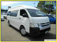 2016 Toyota HiAce TRH223R MY16 Commuter French Vanilla Automatic 6sp A Bus