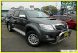 2015 Toyota Hilux KUN26R MY14 SR5 (4x4) Graphite 5 SP AUTOMATIC for Sale