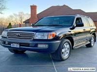2004 Toyota Land Cruiser Roof Rack & Running Boards