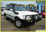 2003 Toyota Landcruiser HDJ100R Sahara (4x4) White Automatic 5sp A Wagon for Sale