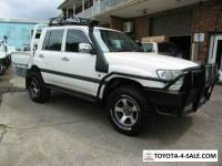 2004 Toyota Landcruiser HZJ79R (4x4) White Manual 5sp M Cab Chassis