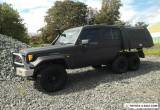 1996 Toyota Landcruiser HZJ75RV RV LWB (4x4) Black Manual 5sp M Hardtop for Sale