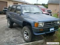 1988 Toyota 4Runner SR5 EFI