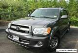 2007 Toyota Sequoia SR5 4WD for Sale