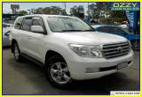 2010 Toyota Landcruiser UZJ200R 09 Upgrade Sahara (4x4) Automatic 5sp A Wagon for Sale