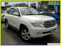 2010 Toyota Landcruiser UZJ200R 09 Upgrade Sahara (4x4) Automatic 5sp A Wagon