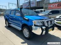 2006 Toyota Hilux GGN25R SR5 Blue Automatic A Utility