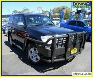 2003 Toyota Landcruiser UZJ100R Sahara (4x4) Black Automatic 5sp A Wagon for Sale