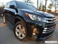 2017 Toyota Highlander AWD LIMITED-EDITION(HEAVILY OPTIONED)