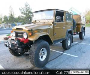 1976 Toyota Land Cruiser 4WD for Sale