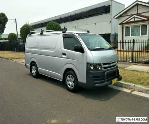 2007 Toyota HiAce KDH201R Silver Automatic A Van for Sale