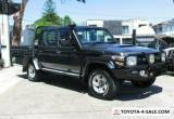 2016 Toyota Landcruiser VDJ79R MY12 Update GXL (4x4) Grey Manual 5sp M for Sale