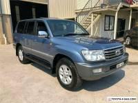 2005 Toyota Landcruiser UZJ100R Sahara Blue Automatic A Wagon