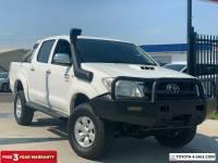 2011 Toyota Hilux KUN26R MY10 SR5 Utility Dual Cab 4dr Man 5sp, 4x4 935kg 3.0D