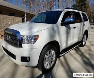 2017 Toyota Sequoia Platinum Edition for Sale