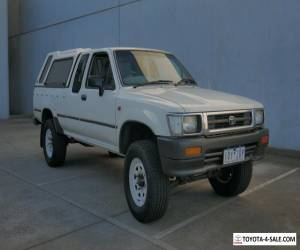 1994 Toyota Hilux (4x4) Manual: Extra Cab P/up  for Sale