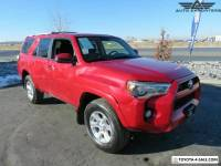 2018 Toyota 4Runner SR5/SR5 Premium/Limited/TRD Off Road/TRD Off Road