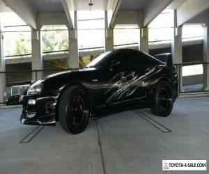 1997 Toyota Supra black for Sale