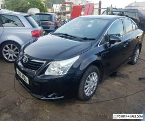 2011 toyota avensis 2.0 d4d spares or repair high mileage ex-taxi starts drive for Sale