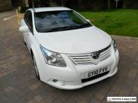 2010 10 TOYOTA AVENSIS  1.8 TR ESTATE - 6 SPEED - WHITE/BLACK TRIM - 127000 mile