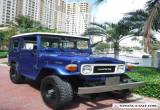 1985 Toyota Land Cruiser FJ40 4X4 for Sale