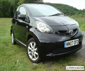 Toyota AYGO VVTi  2007 68,000 Miles ONLY! 1 Previous Owner MOT Feb 2020 BLACK ed for Sale