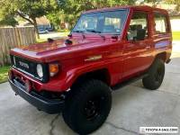 1985 Toyota Land Cruiser fj70MR
